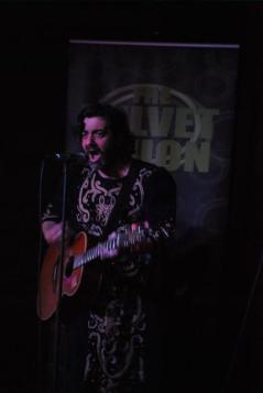 Antony Elvin @ The Velvet Onion Live