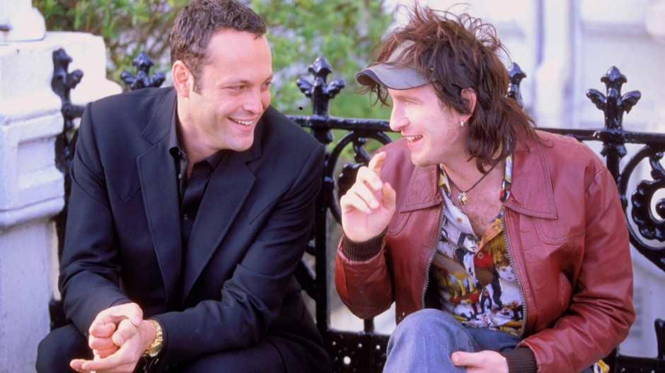 Vince Vaughn and Paul Kaye in Mel Smith's Blackball. © Icon Entertainment