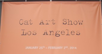 cat art show sign © Trixie