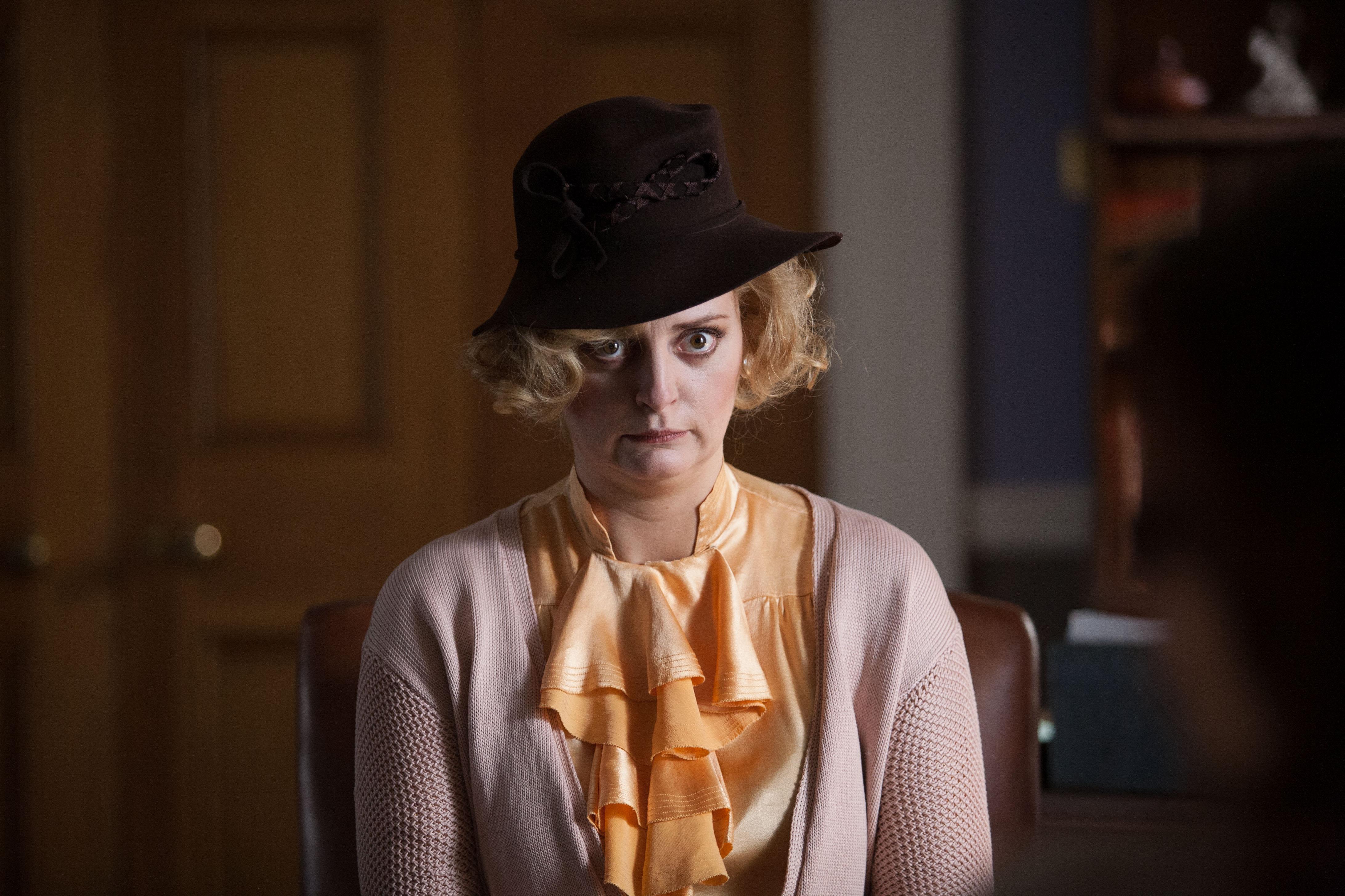 Psychobitches, Series 02, Episode 06, Morgana Robinson as Daphne duMaurier
