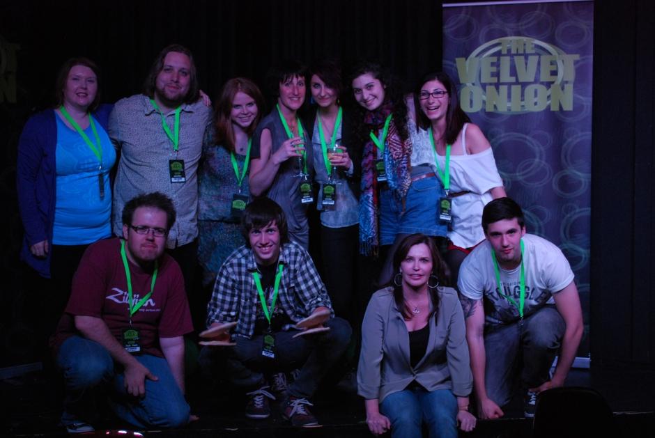 Team TVO in May 2012. © The Velvet Onion