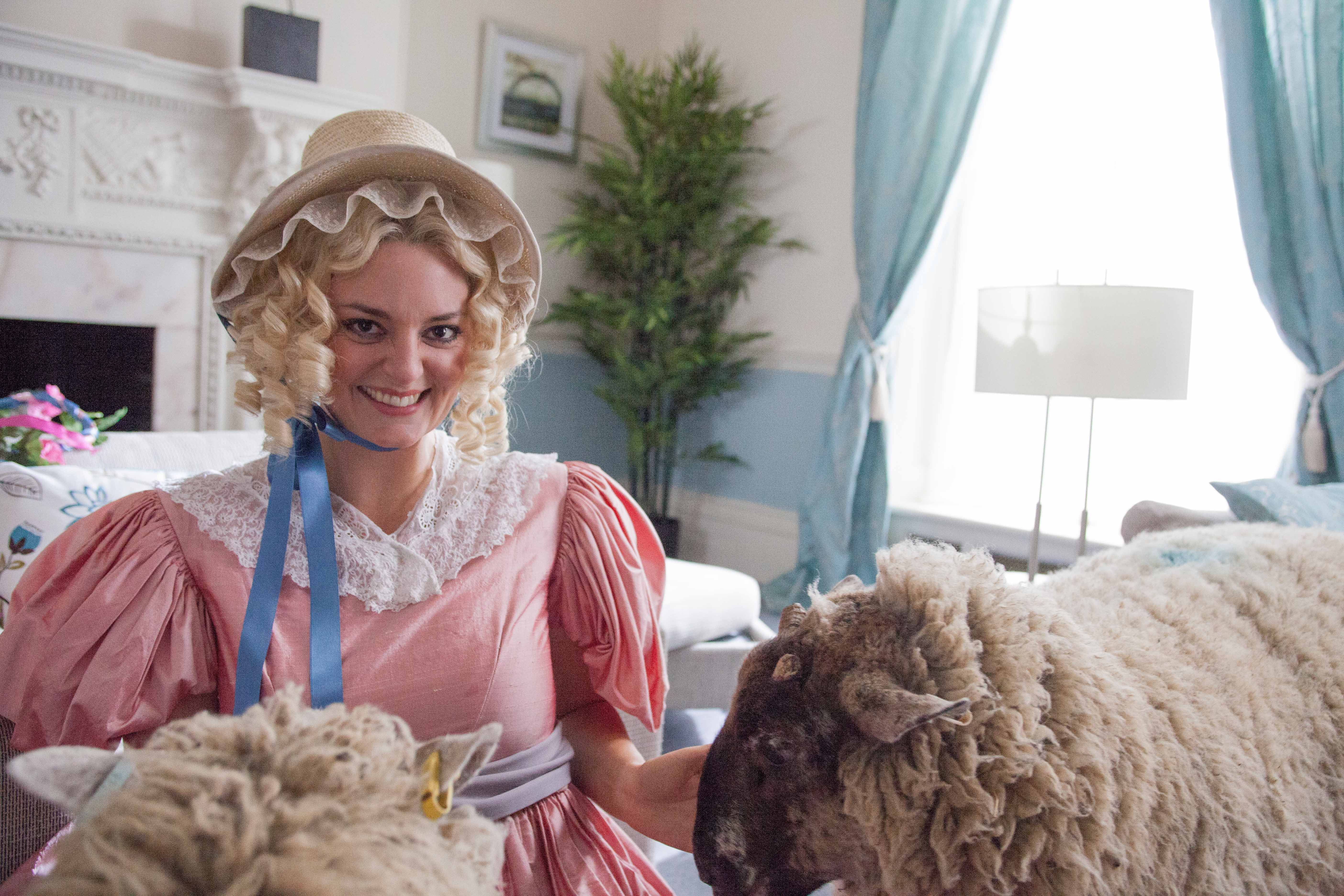 Psychobitches, Series 02, Episode 02, Morgana Robinson as Little Bo Peep
