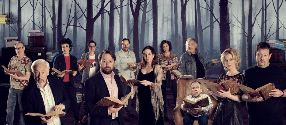 Series Two narrators: © UK TV / Tiger Aspect