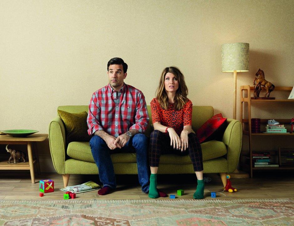 Rob Delaney and Sharon Horgan in Catastrophe