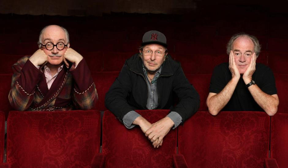 L-R: Simon Jones, Mark Wing-Davey and Geoffrey McGivern in 2012. © Andy Hollingworth