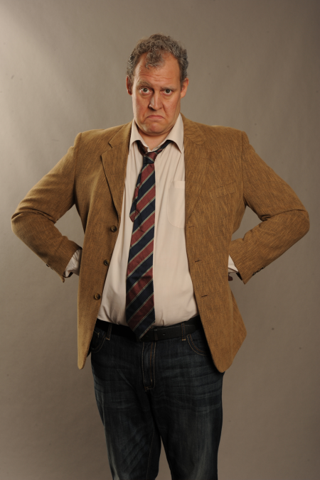 Justin Edwards as Jeremy Clarkson © Tiger Aspect Television