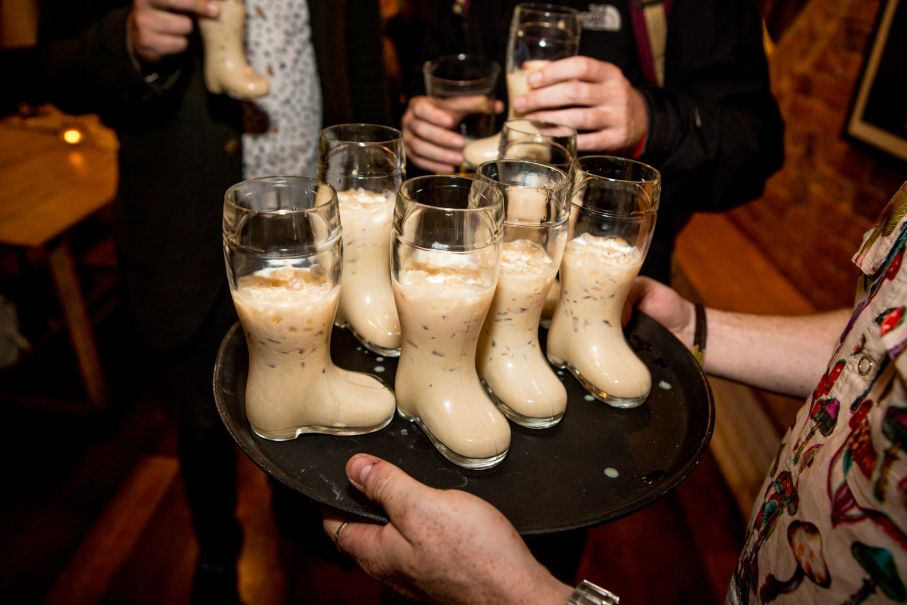 © Graham Turner: Drinking Baileys from a shoe